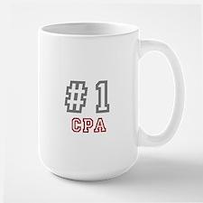 #1 CPA Mug