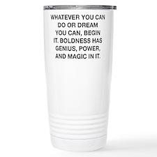 Whatever You Can Dream Travel Coffee Mug