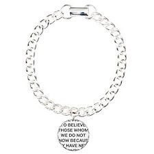 Inclined To Believe Bracelet