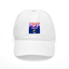 wisconsinromneyflag.png Baseball Cap