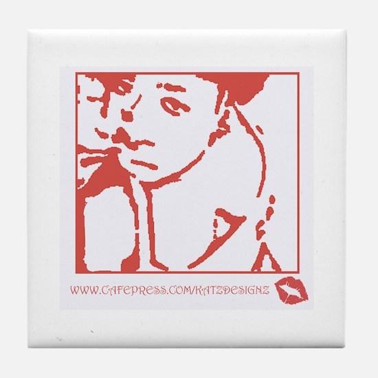 KatzDesignz Promotion Tile Coaster