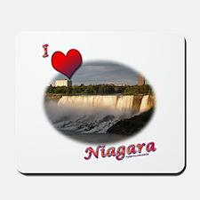 I Love Niagara Mousepad