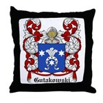 Gutakowski Coat of Arms Throw Pillow