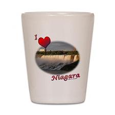 I Love Niagara Shot Glass