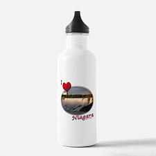 I Love Niagara Water Bottle