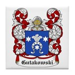 Gutakowski Coat of Arms Tile Coaster
