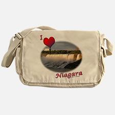 I Love Niagara Messenger Bag