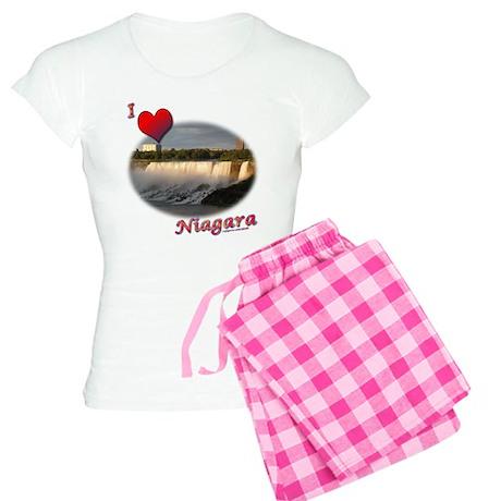I Love Niagara Women's Light Pajamas