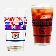 westvirginiaromneyflag.png Drinking Glass