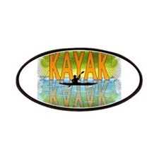 Kayak Reflections Patches