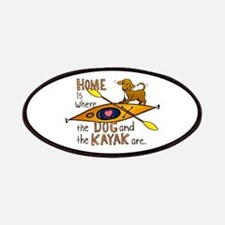 Dog and Kayak Patches