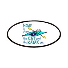 Cat and Kayak Patches