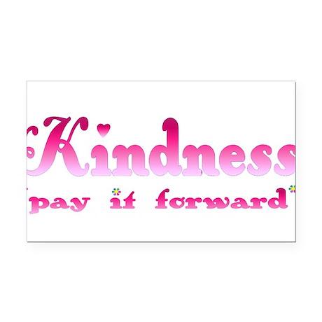 kindnesspinktrans.png Rectangle Car Magnet