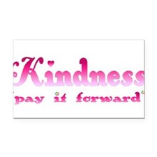 kindnesspinktrans.png Rectangle Car Magnet