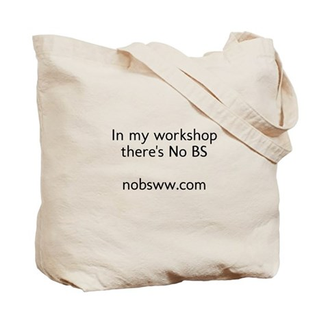 No BS Woodworking Tote Bag