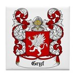 Gryf Coat of Arms Tile Coaster