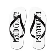 Pscycolist Flip Flops
