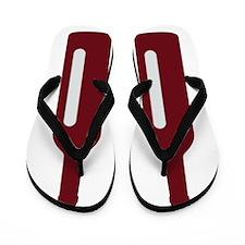 Unique Ff logo Flip Flops