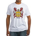 Groty Coat of Arms Fitted T-Shirt