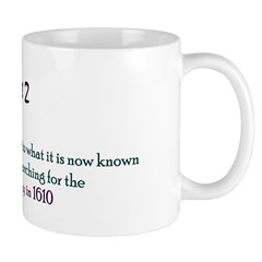 Mug: Henry Hudson sailed into what it is now known