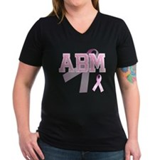ABM initials, Pink Ribbon, Shirt
