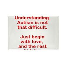 Understanding Autism Rectangle Magnet