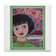 Have Some Adobo Tile Coaster