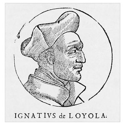 Ignatius of Loyola, founder of Jesuits Poster