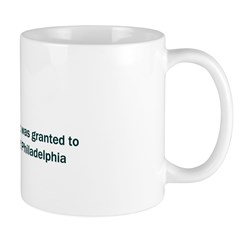 Mug: Revolving door patent was granted to Theophil