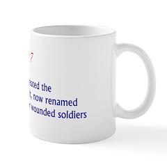 Mug: George Washington created the Badge of Milita