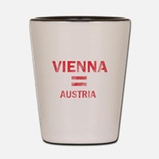 Vienna Austria Designs Shot Glass