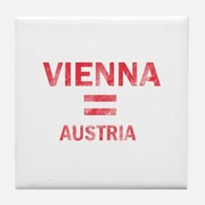 Vienna Austria Designs Tile Coaster