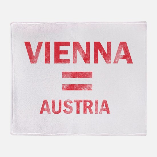 Vienna Austria Designs Throw Blanket
