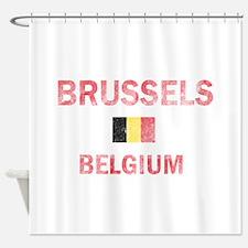 Brussels Belgium Designs Shower Curtain