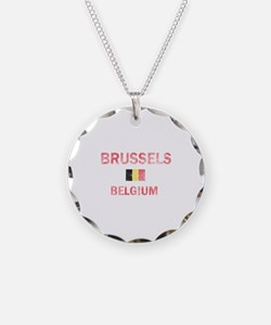 Brussels Belgium Designs Necklace