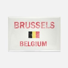 Brussels Belgium Designs Rectangle Magnet