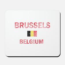 Brussels Belgium Designs Mousepad