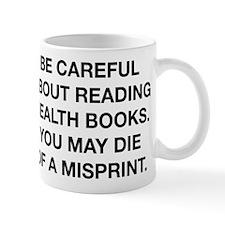 Careful Reading Health Books Mug