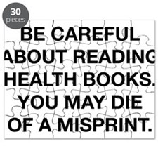 Careful Reading Health Books Puzzle