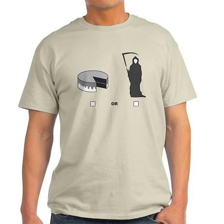 4-3-CakeOrDeath-200dpi-flat T-Shirt