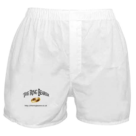 Boxer Shorts with Ring Bearer Logo