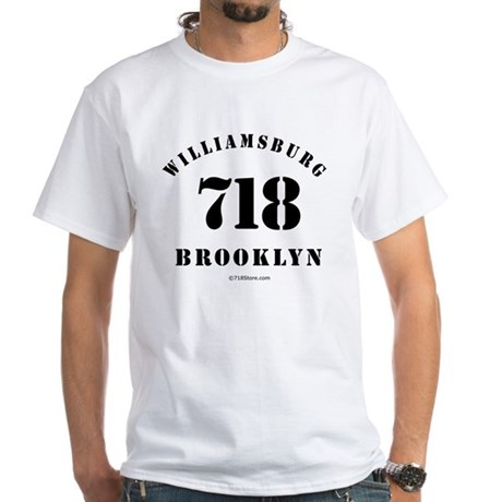 Williamsburg White T-Shirt