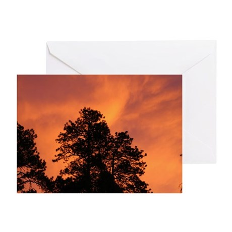 Fire in the Sky Greeting Cards (Pk of 10)