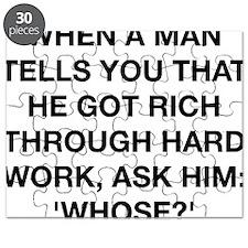 When A Man Tells You He Got Rich Puzzle