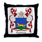 Emberk Coat of Arms Throw Pillow