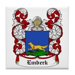 Emberk Coat of Arms Tile Coaster