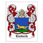 Emberk Coat of Arms Small Poster