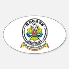 Megans Oval Decal