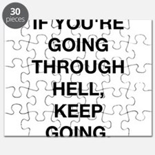 If You Are Going Through Hell Puzzle