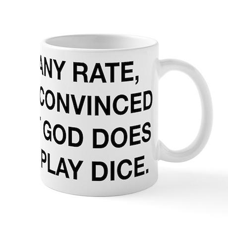 God Does Not Play Dice Mug
